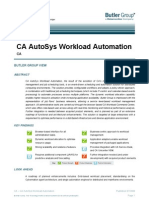 CA-Autosys Workload Automation