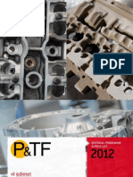 P&TF 2012 editorial programme