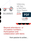 Collaborating with Teens to Build Better Library Programs Part 1