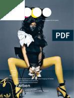 St. Galler Lifestyle-Magazin sg9000, Ausgabe 3, Schwerpunkt Farben