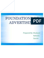 Foundations of Advertising