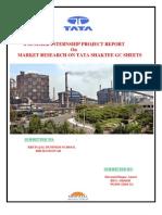 Sip Report of Tata Steel LTD.