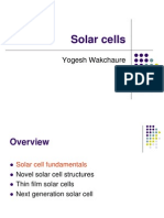 Thin Film Solar Cells - Presentation 2