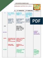 itinerario 2011-12