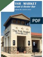 The Fish Market Restaurant Menu