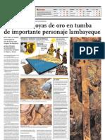 Descubrimiento Arqueológico en Lambayeque, Perú