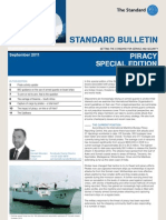 Standard Bulletin September 2011 Piracy Special Edition