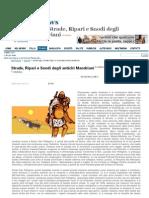 Strade, ripari e snodi degli antichi mandriani - Vincenzo Stasolla