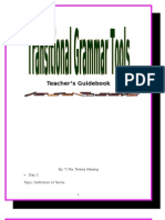 18315867 Teacher Manual Teaching Grammar Based Wrting
