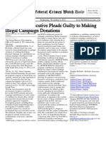 November 9, 2011 - The Federal Crimes Watch Daily