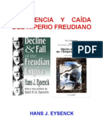 Eysenck-Decadencia y Caida Del Imperio Freudiano