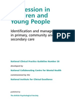Depression in Children and Young People-nice