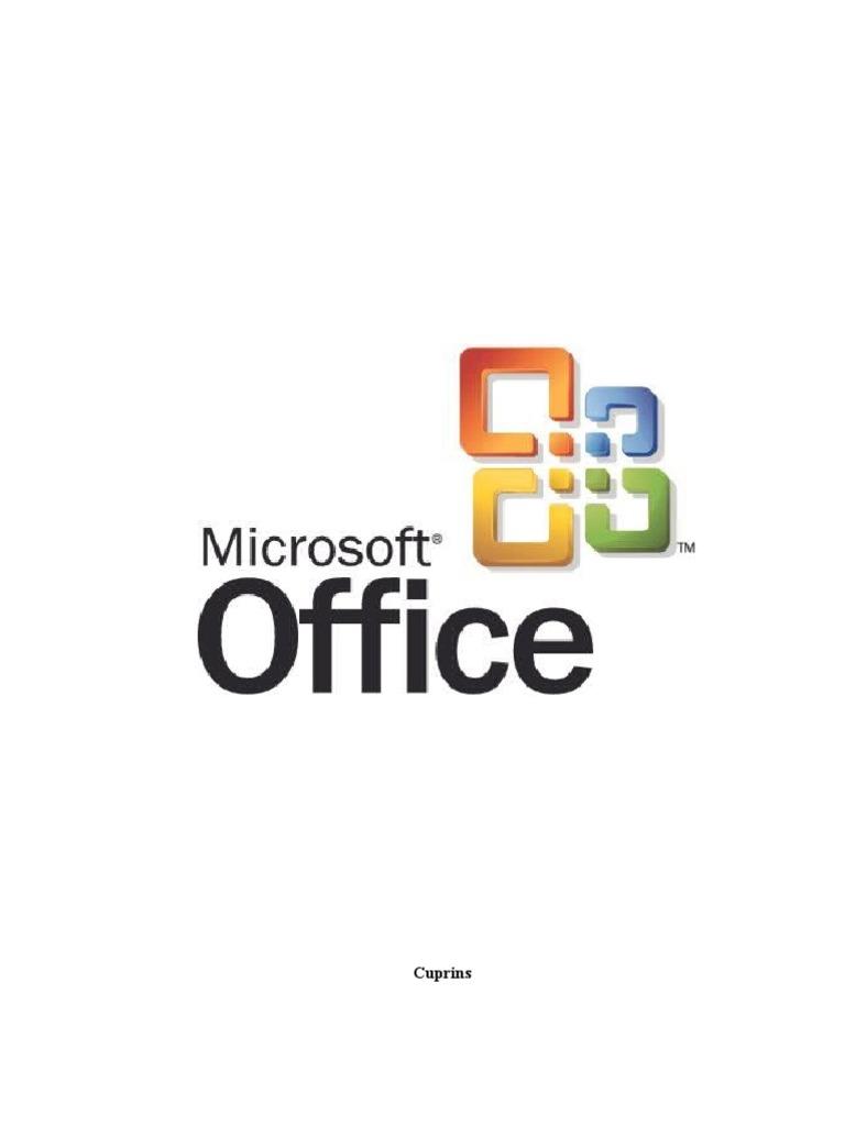Manual Utilizare Microsoft Office