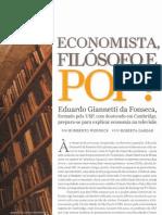 Eduardo Giannetti Revista Epoca Negocios Abr07