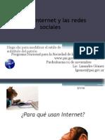Uso de Internet y Las Redes Sociales