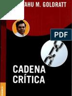 Cadena crítica By Goldratt- E.m.