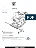 Craftman Power Saw Manual