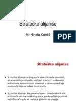 strateške alijanse