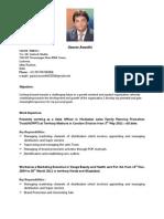 Gaurav Awasthi Resume
