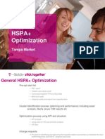 Tampa HSPA+ Optimization Market Kick Off