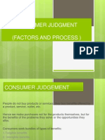 Consumer Judgments Dn