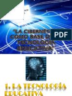 la cibernetica como base de la tecnologia educativa.