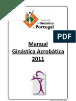 Regulamento de Ginástica Acrobatica2009-2013 - Reformulado2010