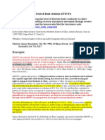 2010 08 30 Whitaker v Deutsch Bank Violation of FDCPA