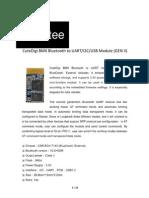 Datasheet Bluetooth