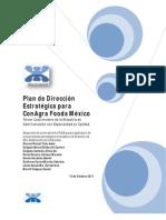 Plan de Dirección Estratégica en ConAgra Foods México _I_