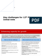 20_Key Challenges for 12th Plan - Initial CII Note
