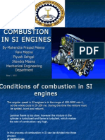 Combustion in SI Engine