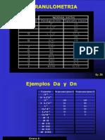 EJERCICIO DE GRANULOMETRÍA