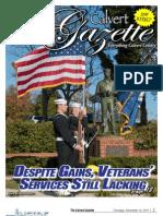 2011-11-10 Calvert Gazette