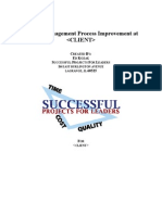 Improvement of Hospital Project Cost and Schedule Management - Final Report Sanitized)