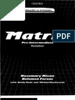 MATRIX Pre Intermediate Work Book 1[1]