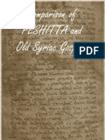 Peshitta Old Syriac Comparison