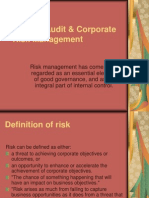 Internal Audit Corporate Risk Management