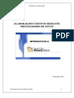 00 Introducción a Word 2003