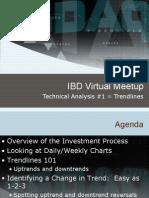 IBD Virtual Meetup Trend Lines