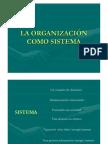 Organizacion Como Sistema Clase 2008