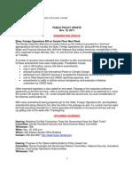 Public Policy Update 11-10-11