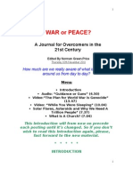 Journal of an Overcomer in 21st Century War or Peace 10.11