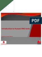 Huawei RNO Tools