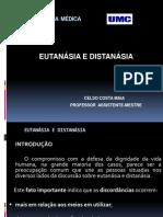 EUTANÁSIA E DISTANÁSIA - BIOÉTICA - 29 - 03 -2011
