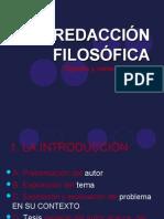 REDACCION FILOSOFICA