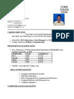 Nishant Cv Prof