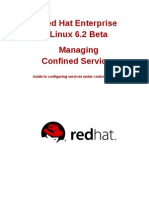 Red Hat Enterprise Linux 6 Beta Managing Confined Services en US