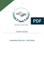 Munic Sochum Study Guide
