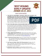 Weekly Update 11.17.11